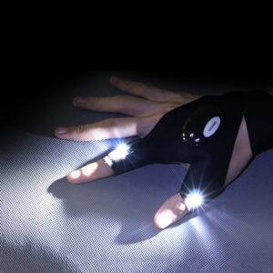 Waterproof LED Light Work Gloves